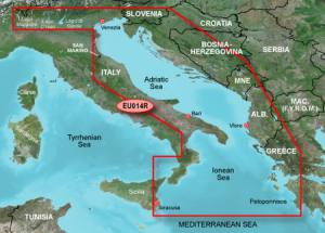 Garmin BlueChart g2 EU014R Italy, Adriatic Sea