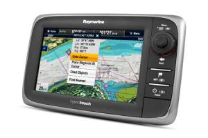 Raymarine e7 HybridTouch Multifunktionsdisplay-7
