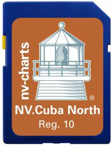 NV-Plotterkarten, Cuba North & South auf SD / microSD Card für Kartenplotter