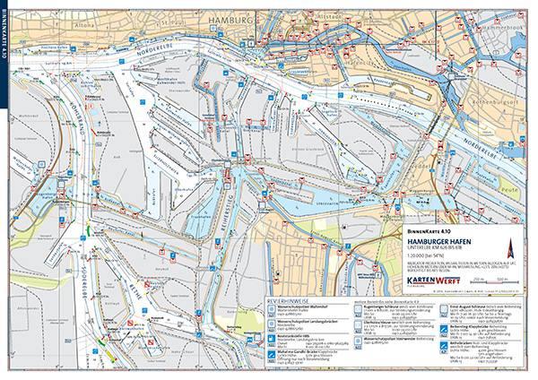 seekarten hamburg Gewässerkarte Elbe Hamburg, Binnen Karte Elbe, Gewässerkarte  seekarten hamburg