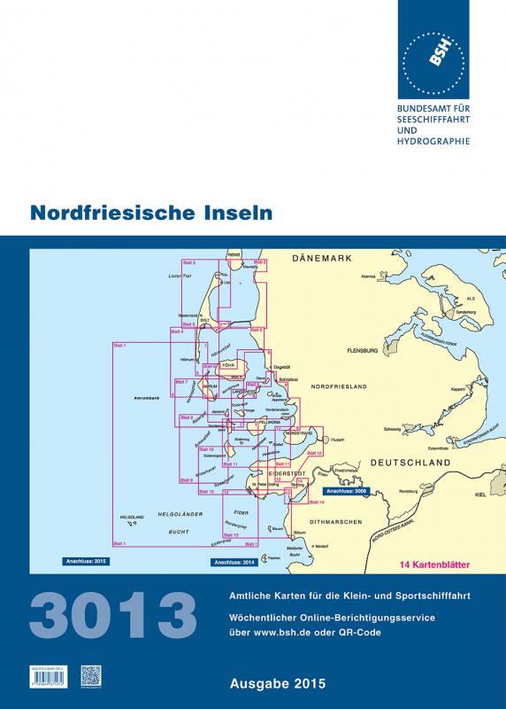 Nordfriesische Inseln Karte.Bsh Seekarten 3013 Ausgabe 2016 Ausverkauft