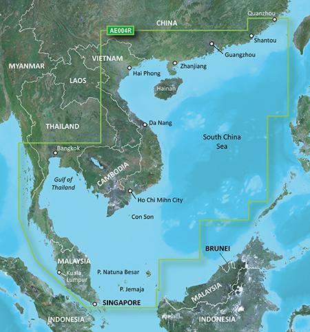 Garmin Bluechart G3 Ae004r Hong Kong South China Sea Hong Kong Sudchinesisches Meer