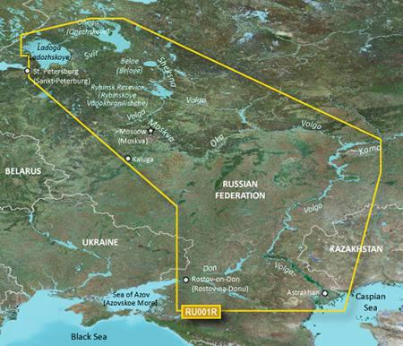 Garmin BlueChart g2 EU062R Russian Inland Waterways / Russische  Inlandsgewässer